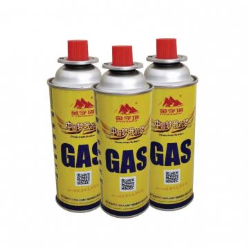227g Round Shape Portable butane gas cartridge 2 liter can 1 gal cans