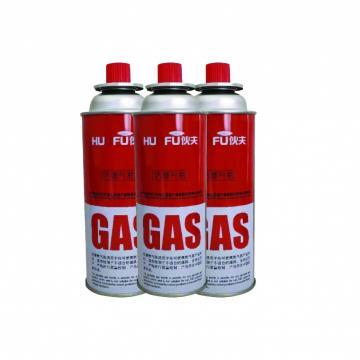 300ml / 250ml / 220ml Portable butane gas canister made in china