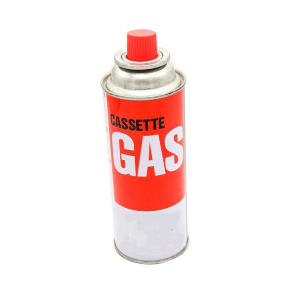 Empty 3kg gas bottle with stainless steel burner stove for camping