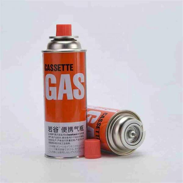 Professional Wholesale Aluminum 165g 227g Aaerosol and Butane Camping Gas Cartridge